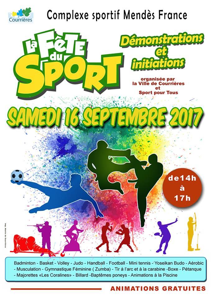 Rendez-vous le 16 septembre à partir de 14h pour participer à la fête du sport