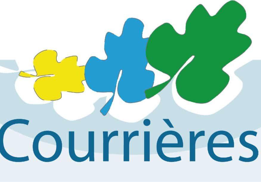 Logo officiel pour la foulée Courrièroise